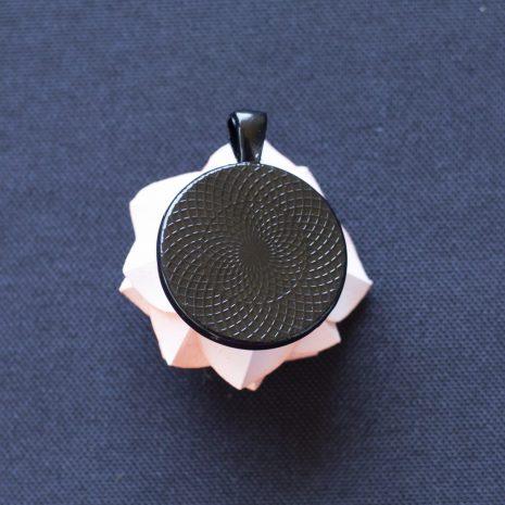 Pink-kirigami-rose-pendant-back