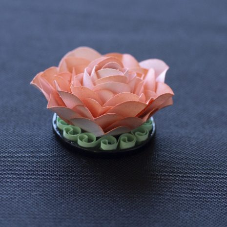 Pink-kirigami-rose-pendant-side