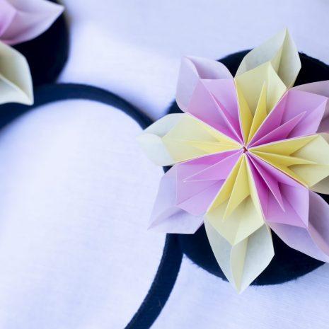 Pink-yellow-kirigami-pinwheel-mouse-ears-detail