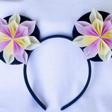 Pink-yellow-kirigami-pinwheel-mouse-ears-front