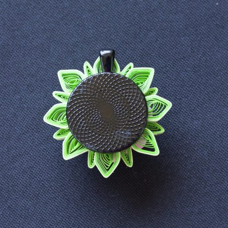 Quilled-flower-anemone-pendant-back