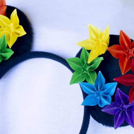 Rainbow-origami-mouse-ears-detail