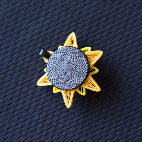 Yellow-quilled-mandala-pendant-back